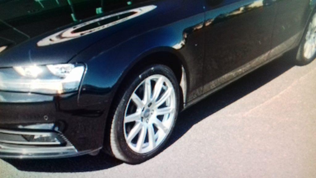 Audi A4 (Black) Repaired