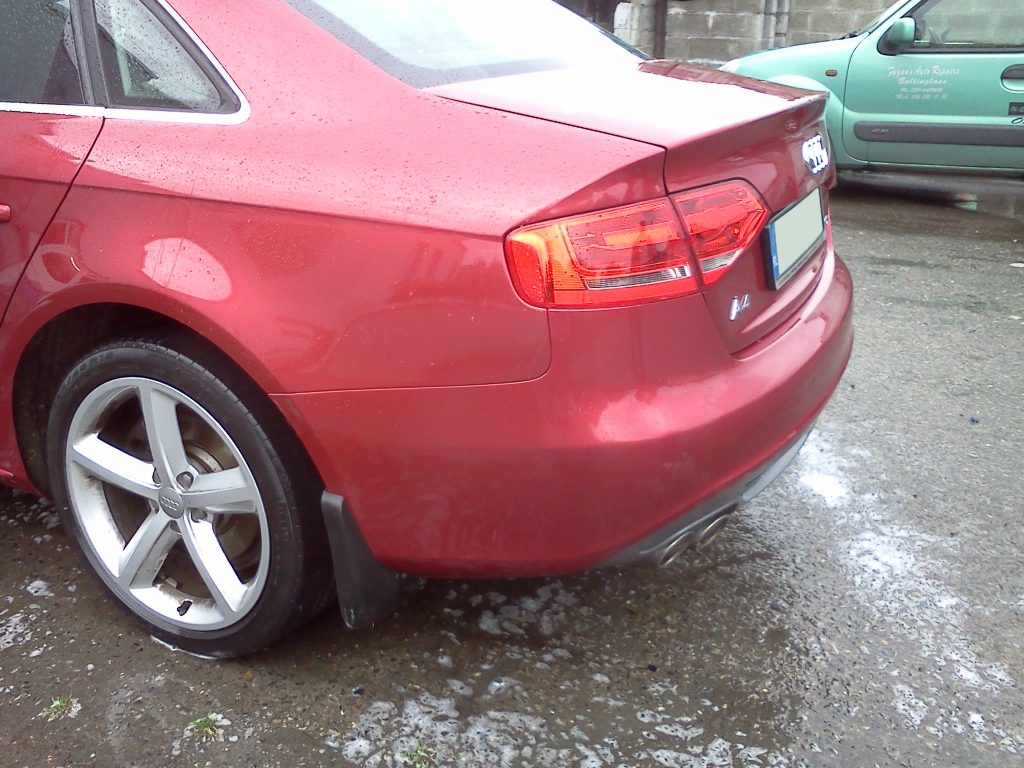 Audi A4 Completed