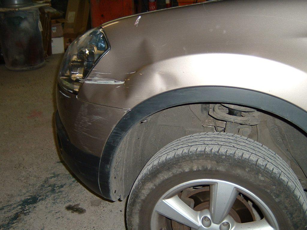 Nissan Qashqai Damaged